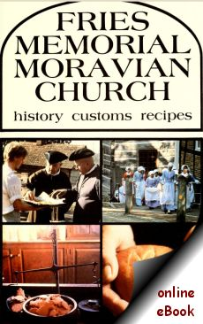 Fries Moravian Church Cookbook