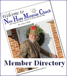 New Hope Moravian Church Member Directory