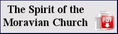 Spirit of the Moravian Church